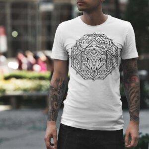 Мъжка тениска Mandala M 007