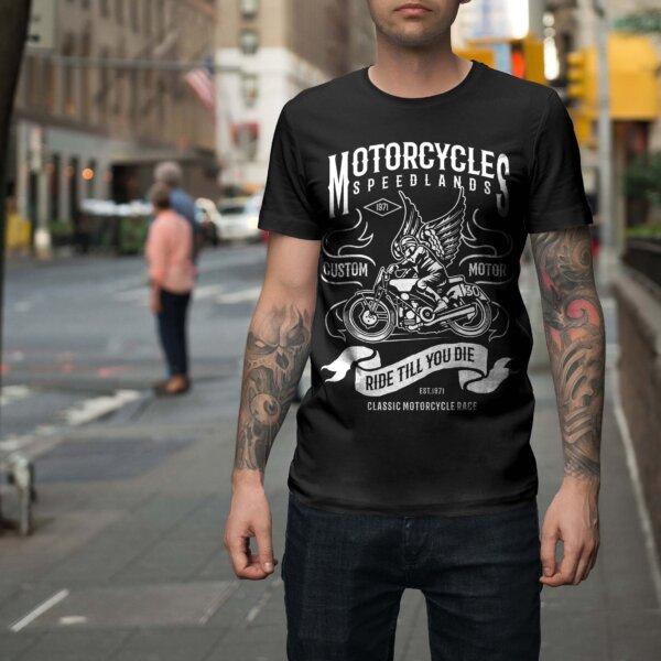 Мъжка тениска Moto M 001