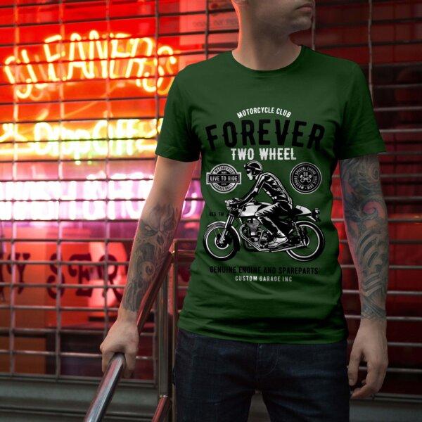 Мъжка тениска Moto M 002