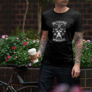 Мъжка тениска Moto M 007