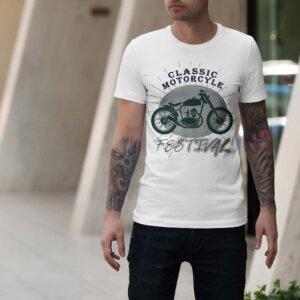 Мъжка тениска Moto M 009