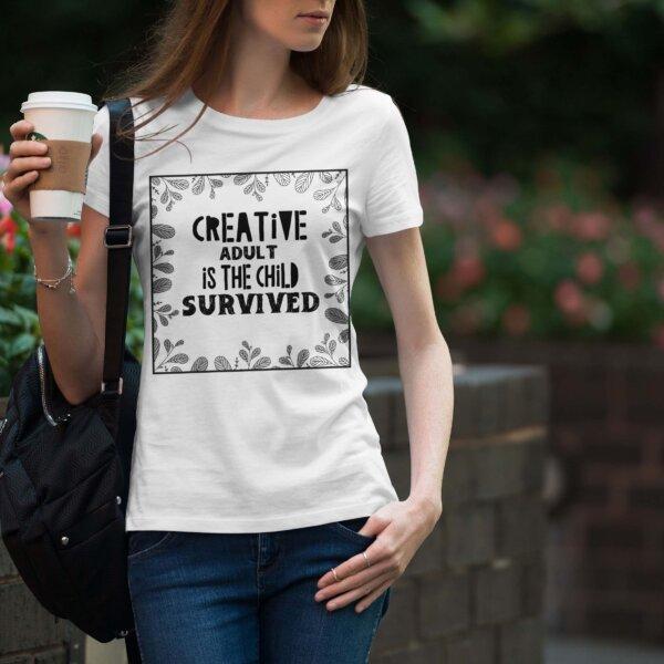 Дамска тениска Sentence W 015