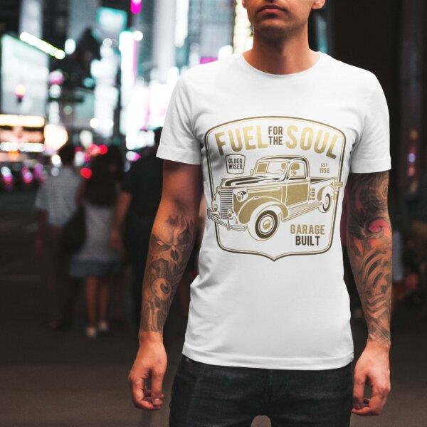 Мъжка тениска Retro M 001