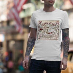 Мъжка тениска Retro M 005