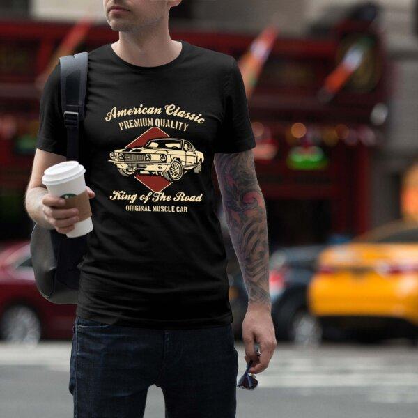 Мъжка тениска Retro M 006
