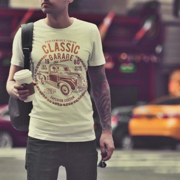 Мъжка тениска Retro M 007