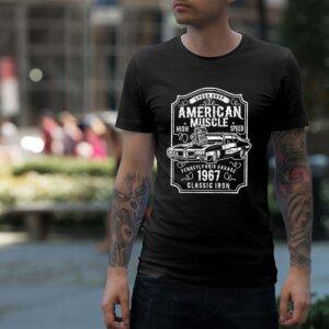 Мъжка тениска Retro M 009