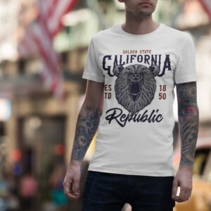 Мъжка тениска Retro M 010