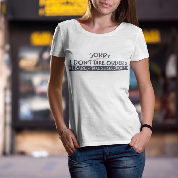 Дамска тениска Sentence W 024